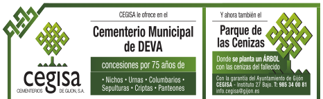 Cementerio Municipal de DEVA - Cegisa